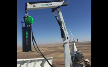 Innovative Heli-Hook cranes enter the US market