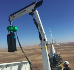 Heli-Hook™ cranes are now compatible with GE 1.5 and GE 1.X turbines!
