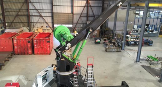 First GenHook™ Crane Tested at Kenz-Figee!