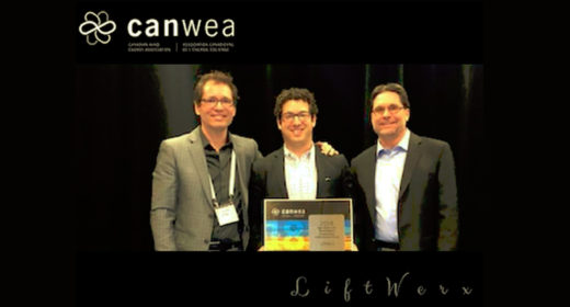 LIFTWERX WINS CanWEA O&M ACHIEVEMENT AWARD