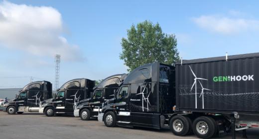 New Cranes means New Trucks!